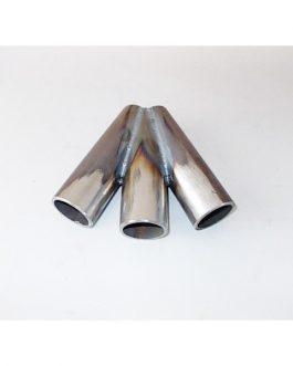 Kollektor 3-1 svartstål 48,3mm