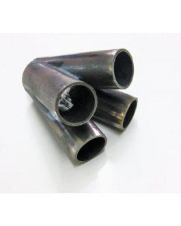 Kollektor 4 cyl 42,2 mm Svartstål
