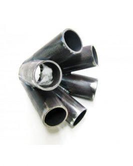 Kollektor 6 cyl 42,2 mm Svartstål
