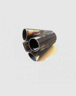 Kollektor 4 cyl 48,3 mm Svartstål